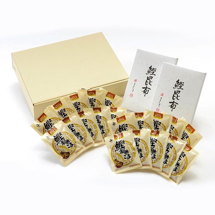 【ご飯のお供】 鰹昆布とふりかけセット ・お中元、お歳暮ギフト、季節の贈り物に