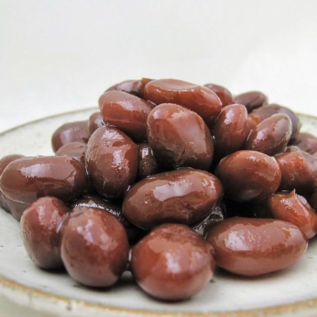 【ちょっとワケあり】 直火炊き 金時煮豆 150g・化学調味料無添加の甘すぎない金時煮豆・おせちの一品にも