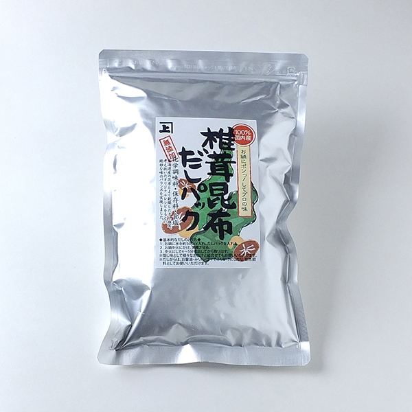 椎茸昆布だしパック(7g×20P)