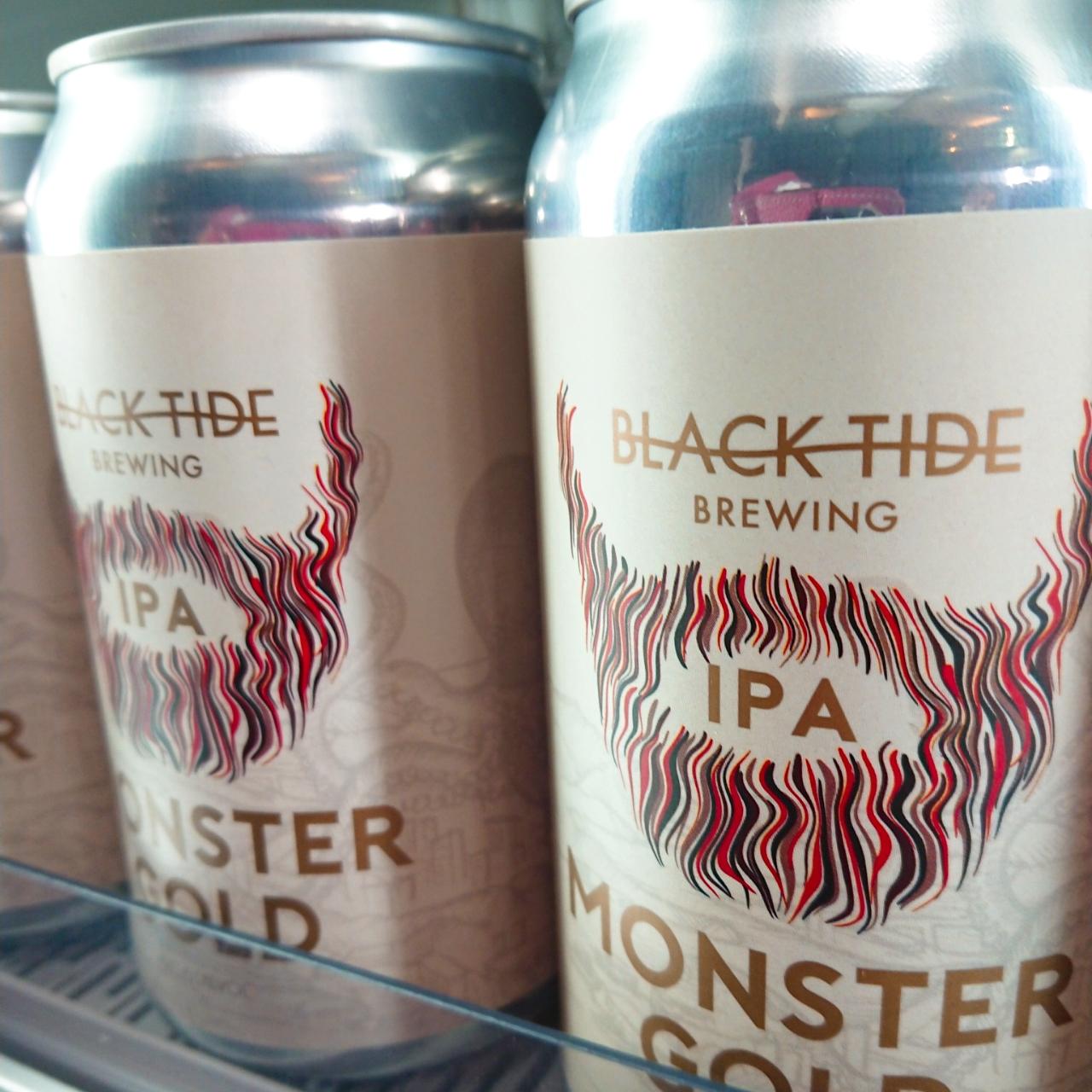 【流通限定】気仙沼 ブラックタイドビール Monster Gold~目指せ怪物級のIPA~
