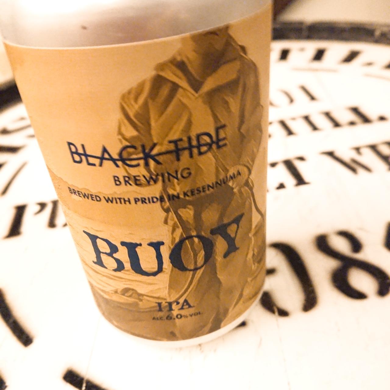 【流通限定】気仙沼 ブラックタイドビール Buoy ~寄せては返す波に乗り、戻るは在るべき場所へ  ~