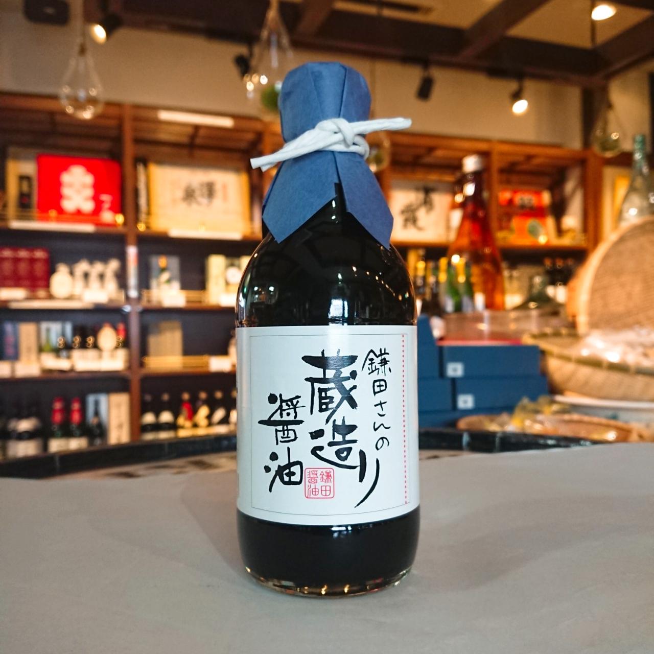 鎌田さんの蔵造り醤油