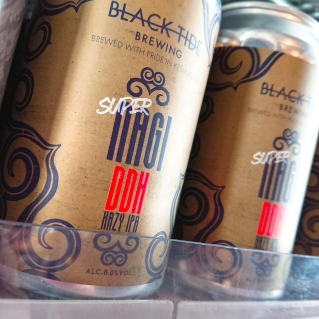【流通限定】気仙沼 ブラックタイドビールSuper Nagi ~凪の後には…凪が来た ~