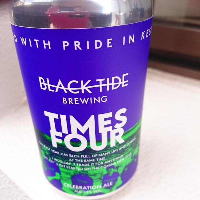 【流通限定】気仙沼 ブラックタイドビール『TIMES FOUR(タイムズ フォー)』~