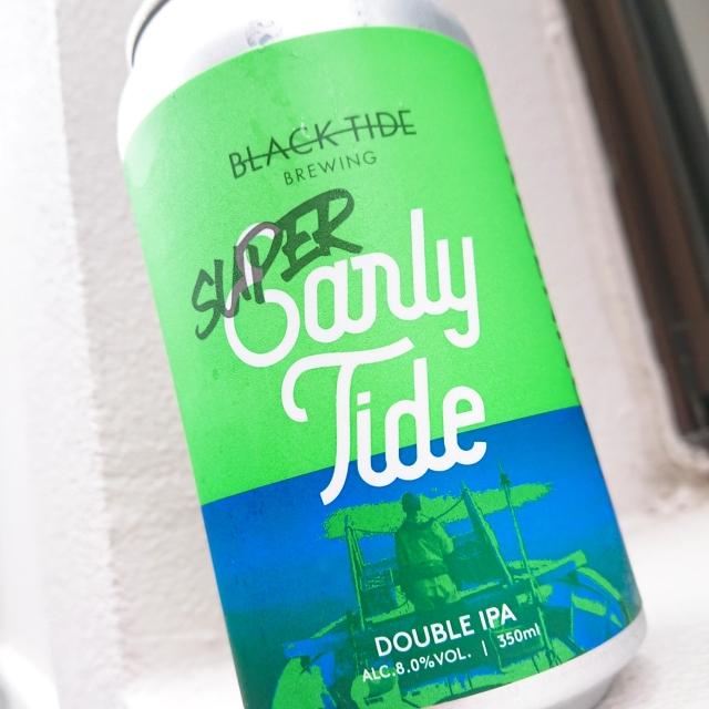 【流通限定】気仙沼 ブラックタイドビールSuper Early Tide ~さらに駆け抜ける。速潮のごとき勢いで。~