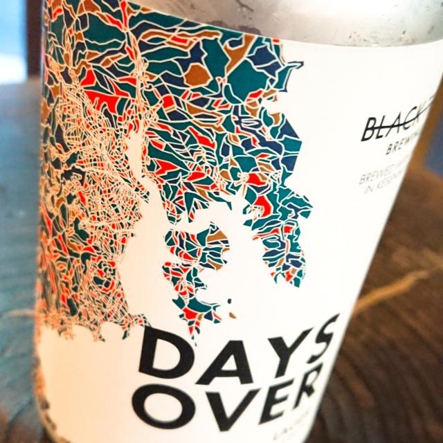 【流通限定】気仙沼 ブラックタイドビール Days Over ~嵐の後には凪が来る。待てば海路の日和あり。  ~