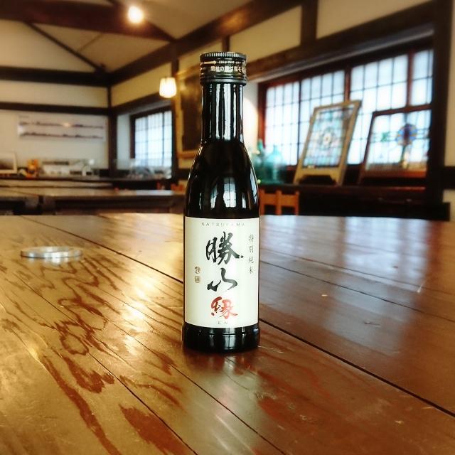 【180mlのお酒】勝山 縁 特別純米酒