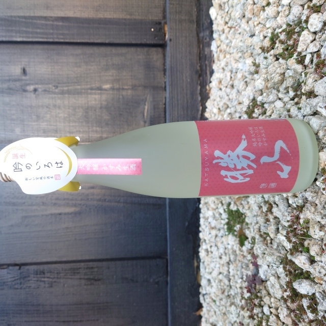 【新・酒米】勝山 純米大吟醸 吟のいろは かすみ生酒