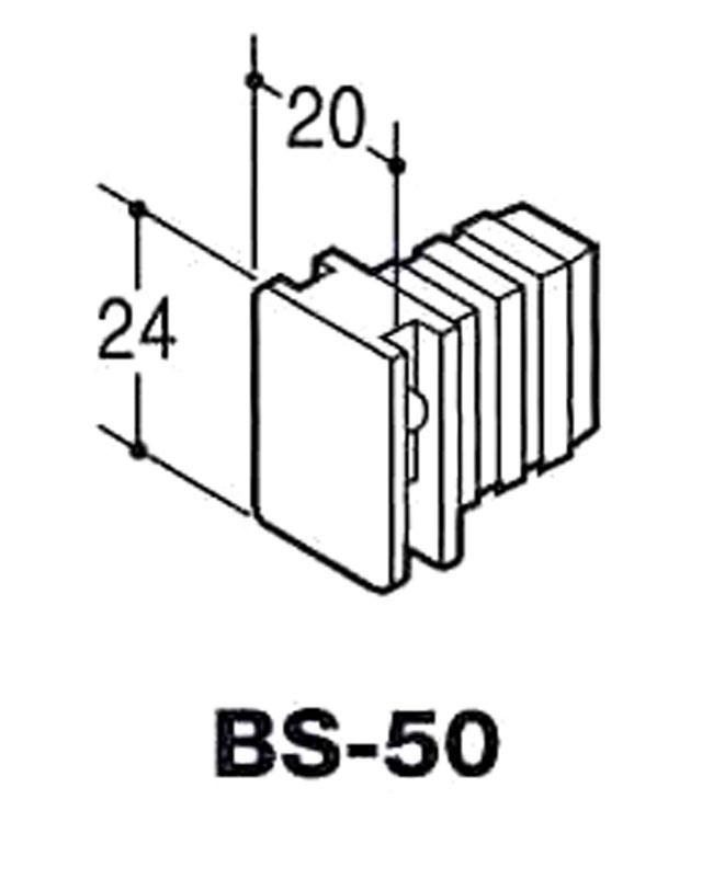 ROYAL BS-50 BSホルダー・Bアダプター クローム