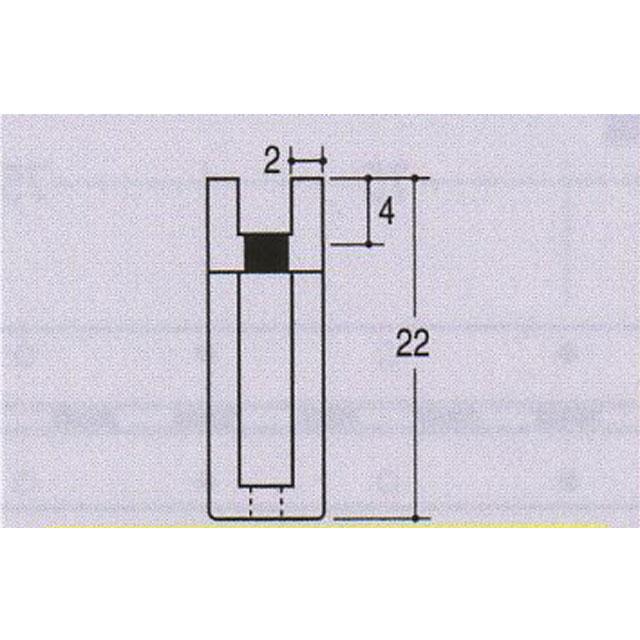 ROYAL チャンネルペッカーサポート22 PSF-22 クローム 1500ミリ