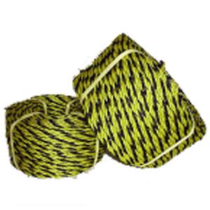 標識ロープ(トラロープ) 9ミリ×100m