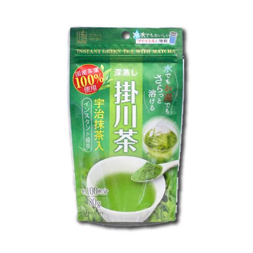 抹茶入りインスタント掛川茶 (80g入)