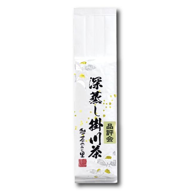 <深蒸し掛川茶>品評会(200g袋入り)