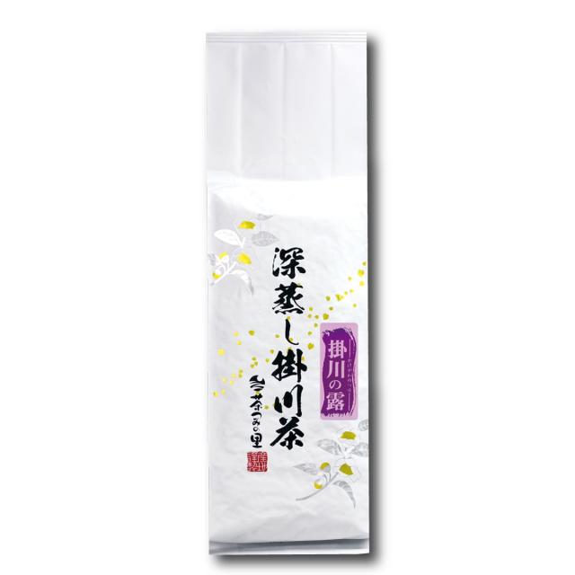 <深蒸し掛川茶>掛川の露(500g袋入り)