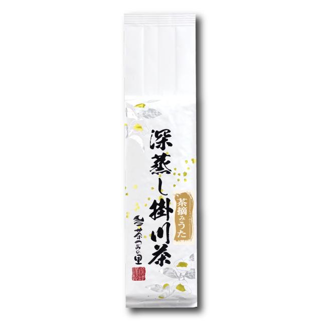 <深蒸し掛川茶>茶摘みうた(200g袋入り)
