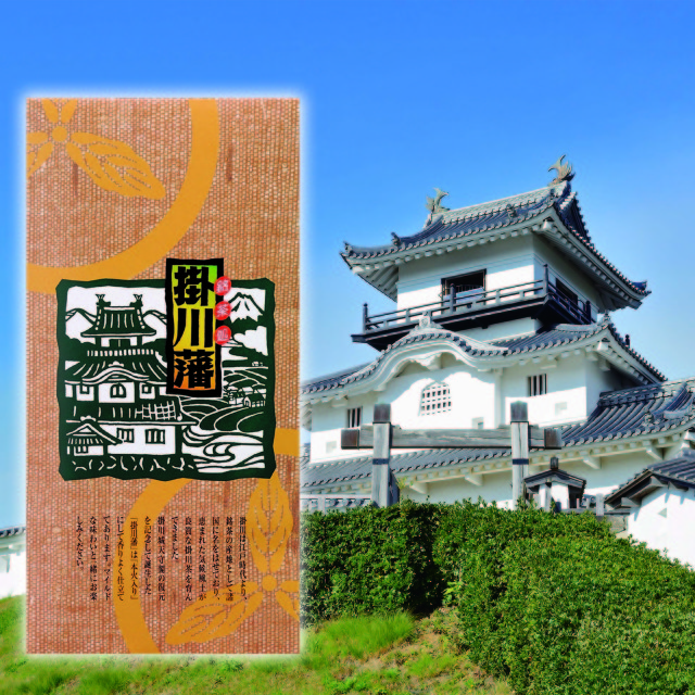 <深蒸し掛川茶>掛川藩(100g袋入り)