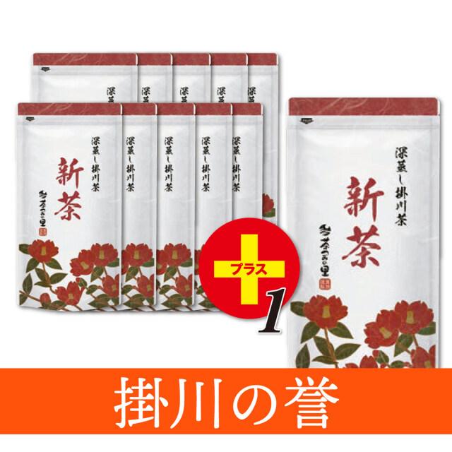 【予約商品】<新茶>掛川の誉(100g袋入×11本)※10本価格で11本!<5月31日まで>