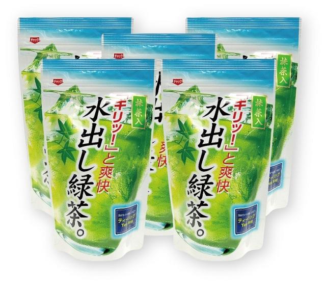 【期間限定価格】水出し煎茶ティーバッグ(5g×16袋入り)5袋セット