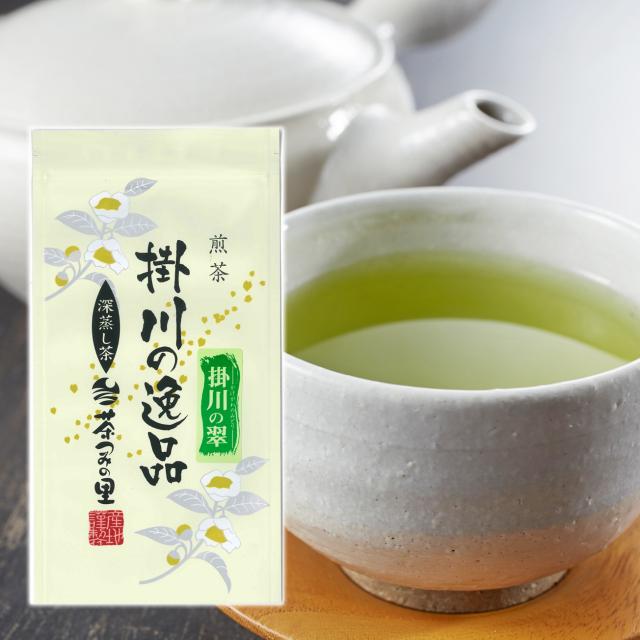 <深蒸し掛川茶>掛川の翠(100g袋入り)