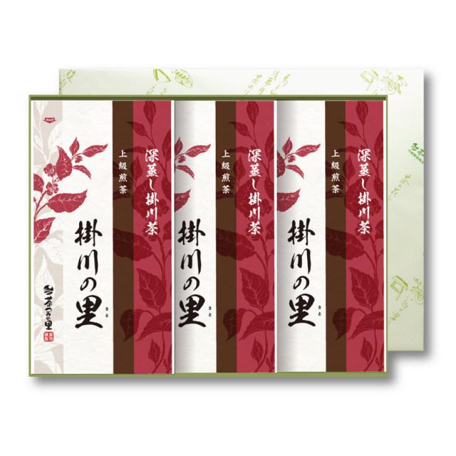 【贈答用】<深蒸し掛川茶>掛川の里3本セット(100g×3袋入)