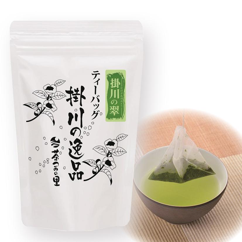 <深蒸し掛川茶>掛川の翠ティーバッグ(3g×25袋入り)