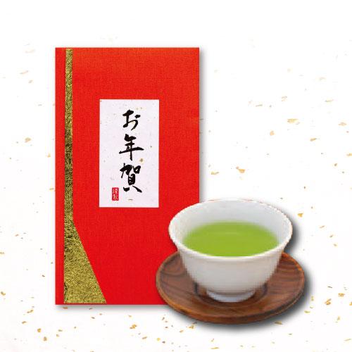 <深蒸し掛川茶>お年賀茶(上煎茶 80g袋入り)