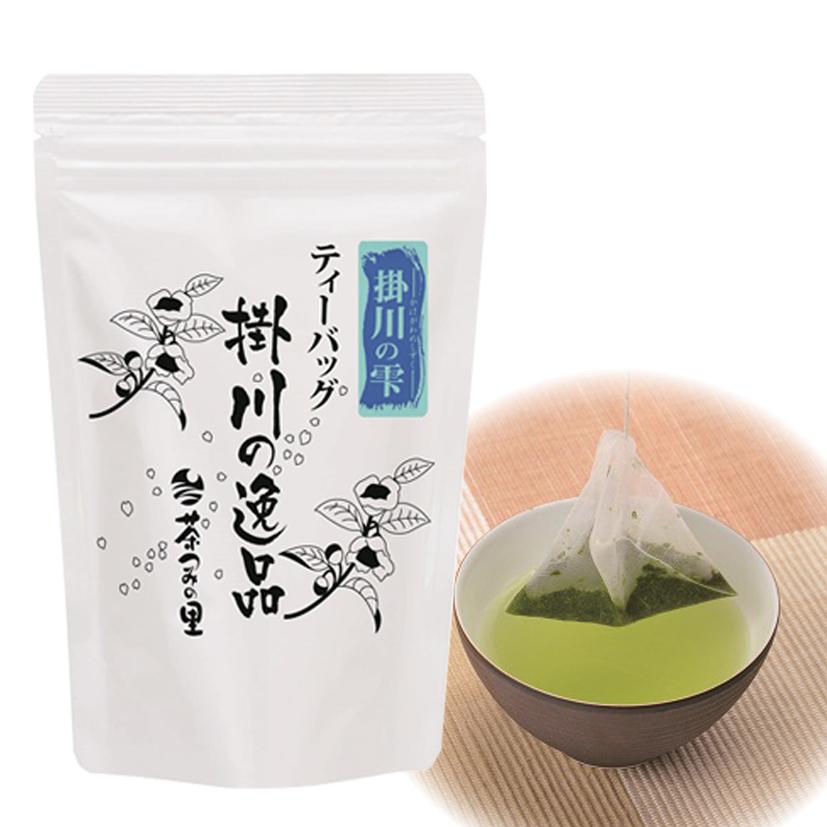 <深蒸し掛川茶>掛川の雫ティーバッグ(3g×25袋入り)