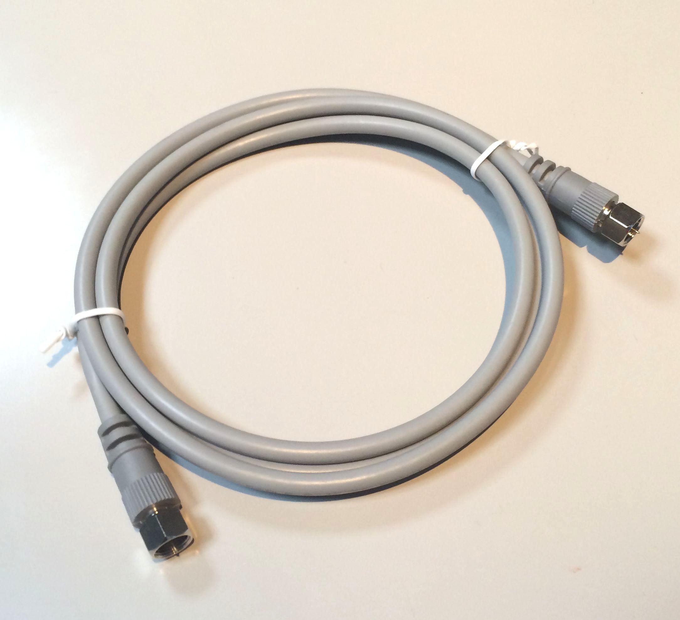 【送料無料】【ノーブランド】 4C-FB-FF-1.5M テレビケーブル4C両端接栓1.5m(グレー)10本セット