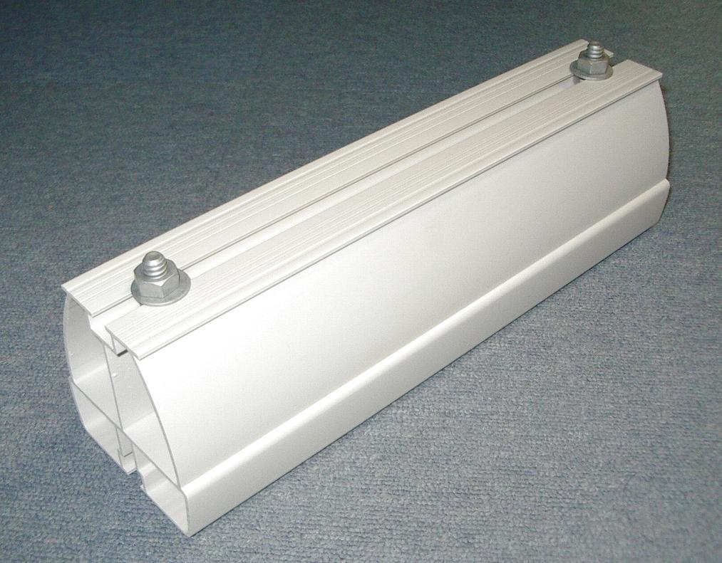 【未来工業/ミライ】 GKB-350 エアコン固定ブロック  350mm ミルキーホワイト