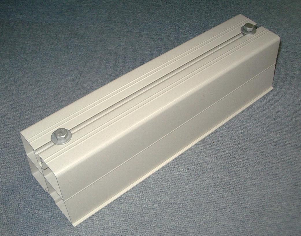 【業務用】【関東器材】 HB-360-20 ハードブロック 360mm  アイボリー 1箱20個入