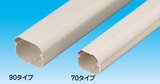 【因幡電工/INABA】 LD-70 スリムダクトLD 長さ200cm