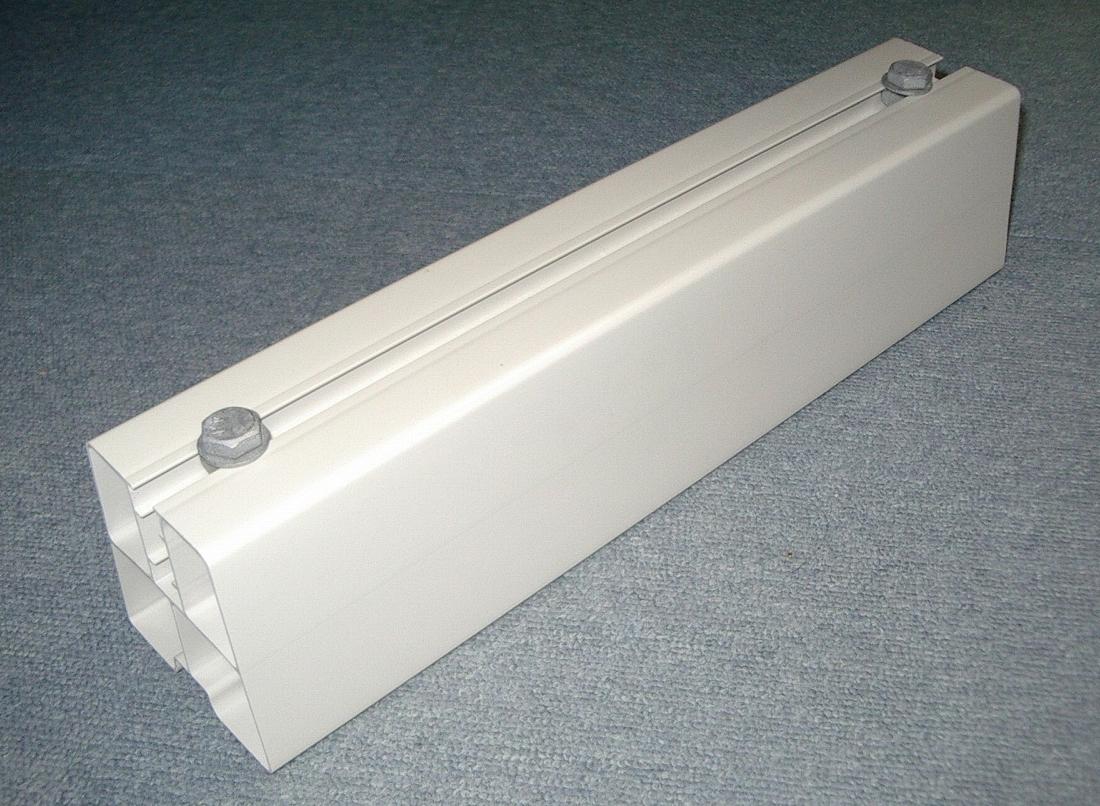 【オーム電機】 00-4458  フソウ化成 ライトロックベース400mm NRB-400 アイボリー