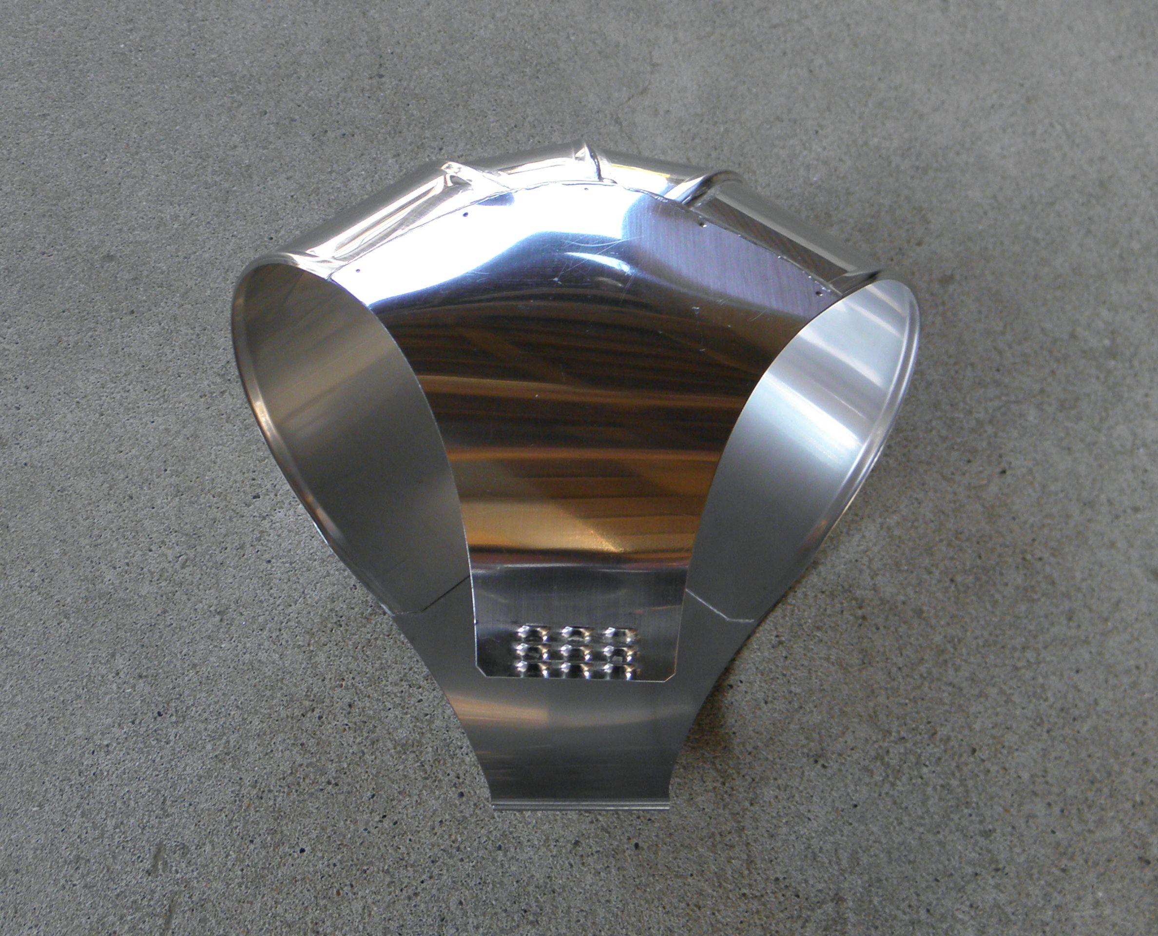 ステンレスラッキング-スピードエルボ No.430(直径135)