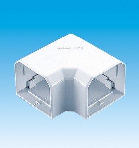 【業務用】【因幡電工/INABA】 MK-85 室内用MD平面コーナー90°ネオホワイト 1箱10個入