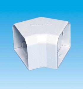 【因幡電工/INABA】 MKF-85 室内用MD平面コーナー45°ネオホワイト