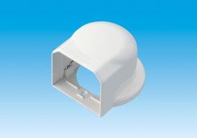 【業務用】【因幡電工/INABA】 MW-85 室内用MDウォールコーナー ネオホワイト 1箱10個入