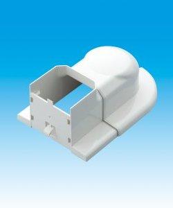 【業務用】【因幡電工/INABA】 MWS-85 室内用MDスライド式ウォールコーナー ネオホワイト 1箱10個入