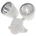 【オーム電機/OHM】AC100V式LED防犯センサーライト2灯式 OSE-LS42