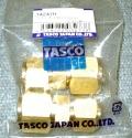 "【TASCO(タスコ)】 TA241H 3/8""×1/2"" 異径フレアユニオン2個入"