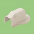 【関東器材/KANTO】 KM2-75A-10 マンション用 出口化粧カバー(後付け用) 1箱10個入