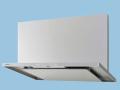 【Panasonic/パナソニック】 FY-9HTC4-S スマートスクエアフード〈大風量形〉 コンロ連動形 整流板捕集方式 90cm幅 シロッコファン・タクトスイッチ 色=シルバー