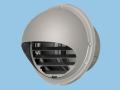 【Panasonic/パナソニック】FY-MCXB062 システム換気部材 パイプフード 丸形 ステンレス製 ガラリ付 防火ダンパー付(温度ヒューズ120℃) φ150用