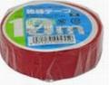【オーム電機/OHM】DE1910R  ビニールテープ  0.2mm19mm×10m  赤色 1巻