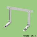 【関東器材/KANTO】 SK-M エアコン壁掛金具一般用(溶融亜鉛メッキ鋼板塗装仕上げアイボリー)新製品