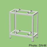【関東器材/KANTO】 SN-M エアコン2段置台(溶融亜鉛メッキ鋼板塗装仕上げアイボリー)新製品
