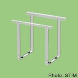 【関東器材/KANTO】 ST-M エアコン天井吊金具Mサイズ(溶融亜鉛メッキ鋼板塗装仕上げアイボリー)新製品