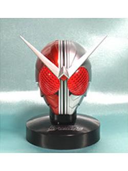 マスクコレクション Vol.8 仮面ライダーW ヒートメタル 発光台座仕様