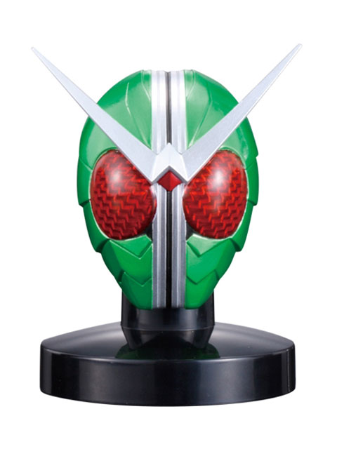 プレミアムバンダイ限定 マスクコレクション 仮面ライダーW 3フォームセット