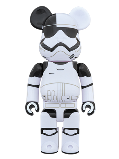 MEDICOM TOY EXHIBITION '18開催限定 FIRST ORDER STORMTROOPER EXECUTIONER(TM) BE@RBRICK ベアブリック 400%