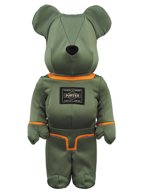 PORTER×BE@RBRICK TANKER SAGE GREEN Special Edition ベアブリック 400%